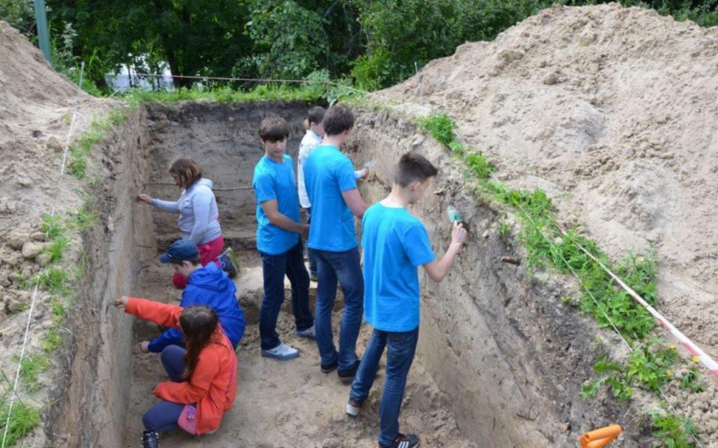 «Школа юных археологов» возобновляет свою работу