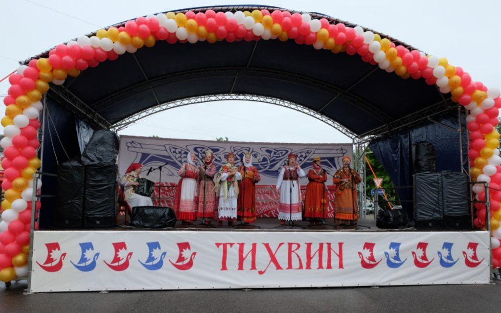 Тихвин принял гостей из 11Ганзейских городов России