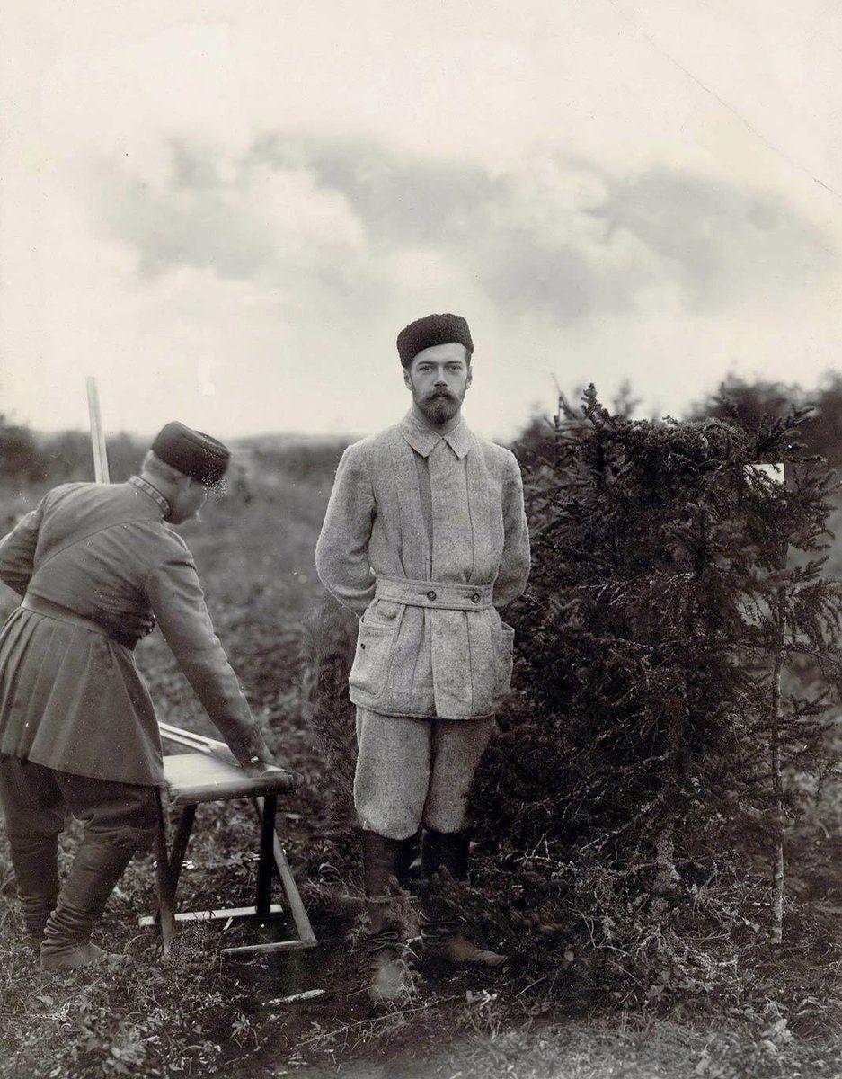 Император Николай II на охоте [1895 г.]
