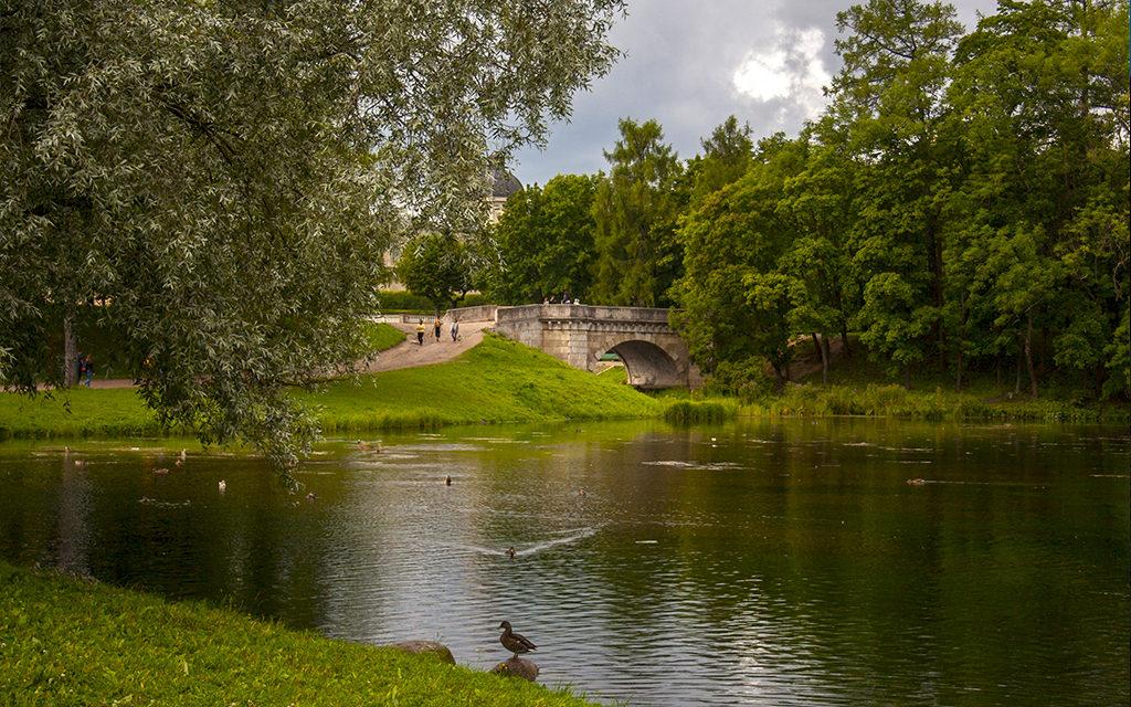 Гатчинский дворец и Гатчинский парк