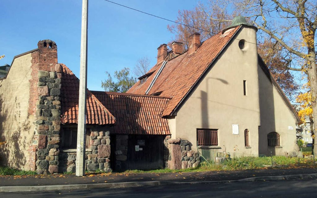 На чердаке Музея-усадьбы П.Е. Щербова в Гатчине обнаружен тайник